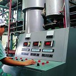 Schultz Team Member working in the Plant